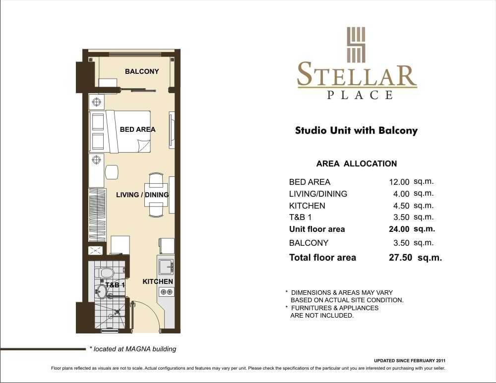 STELLAR PLACE STUDIO UNIT
