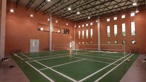 the redwoods badminton court