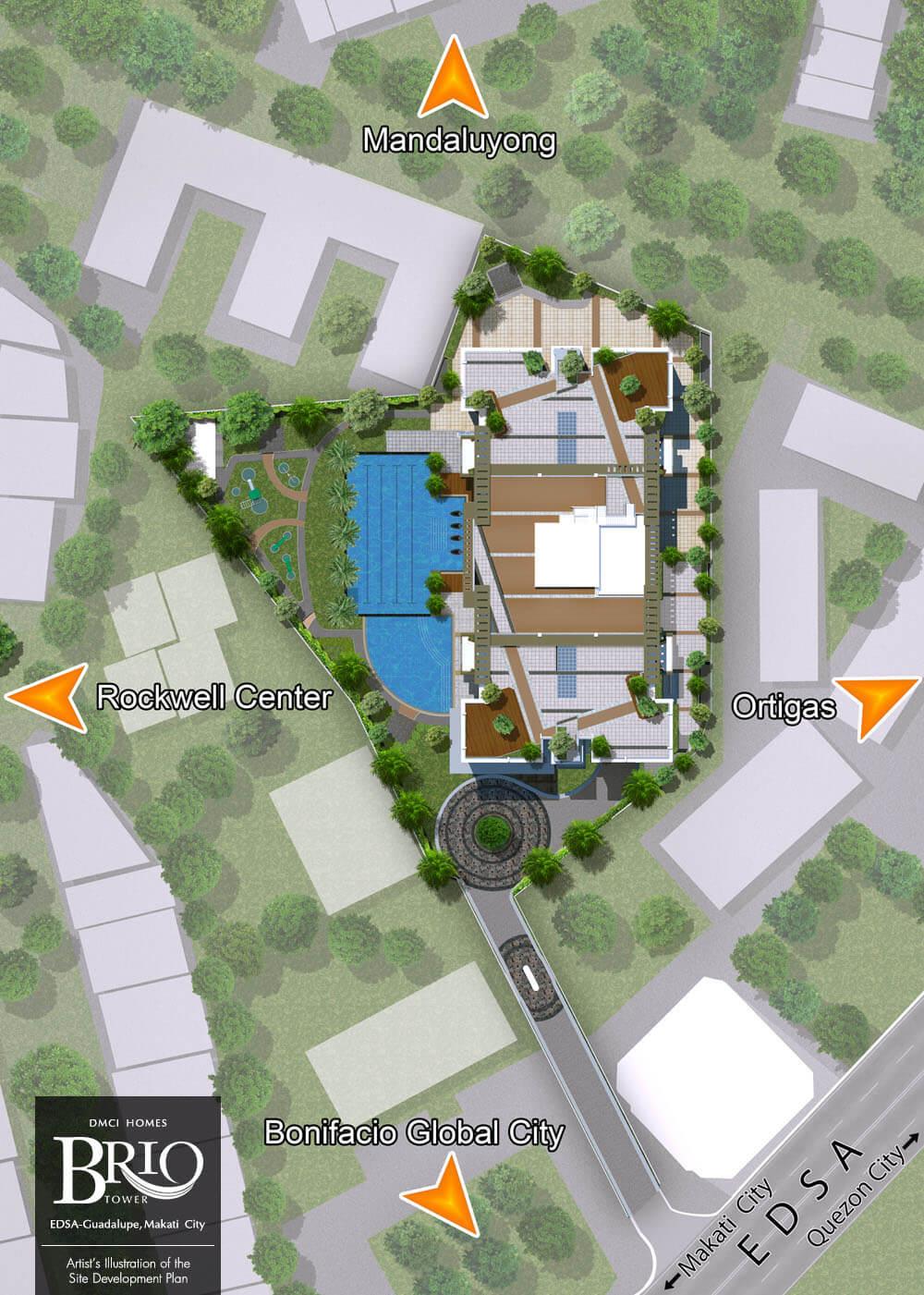 Brio Tower Site Dev't Plan DMCI