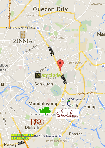 Condo along EDSA, Metro MAnila Philippines
