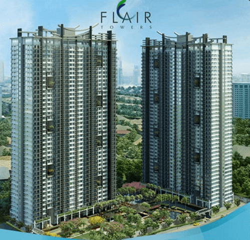 Condo near EDSA MEtro Manila Flair Towers