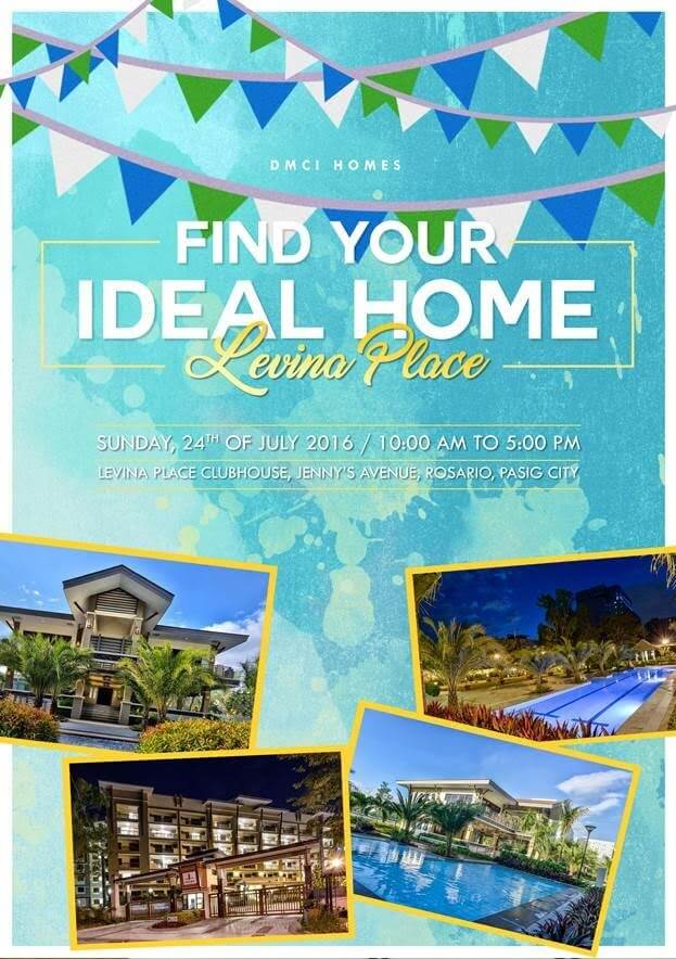 Levina Place DMCI Open House