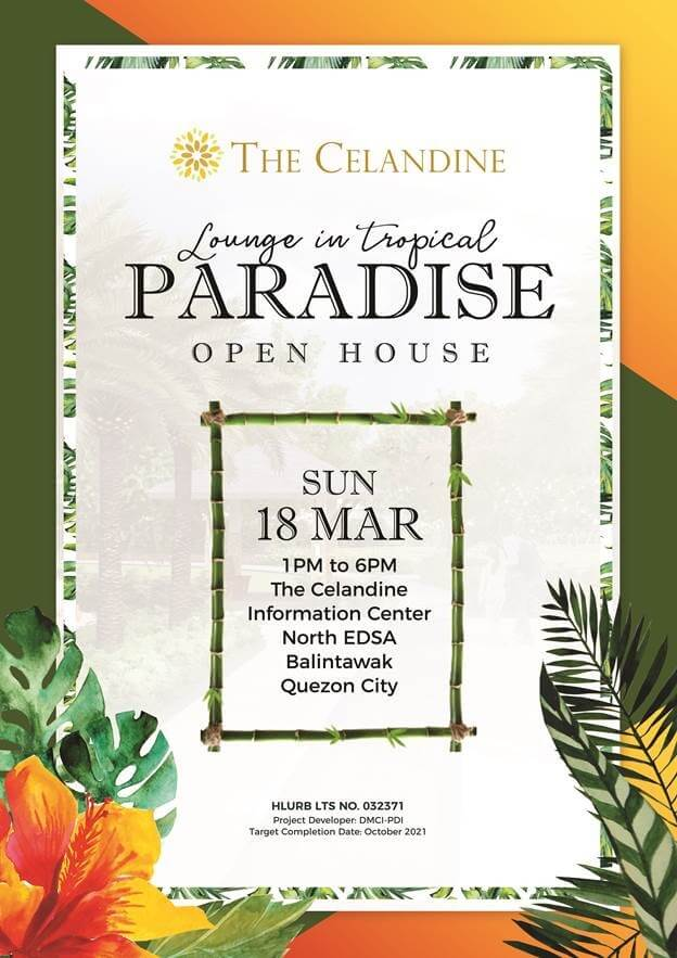 Celandine Openhouse by DMCI Homes
