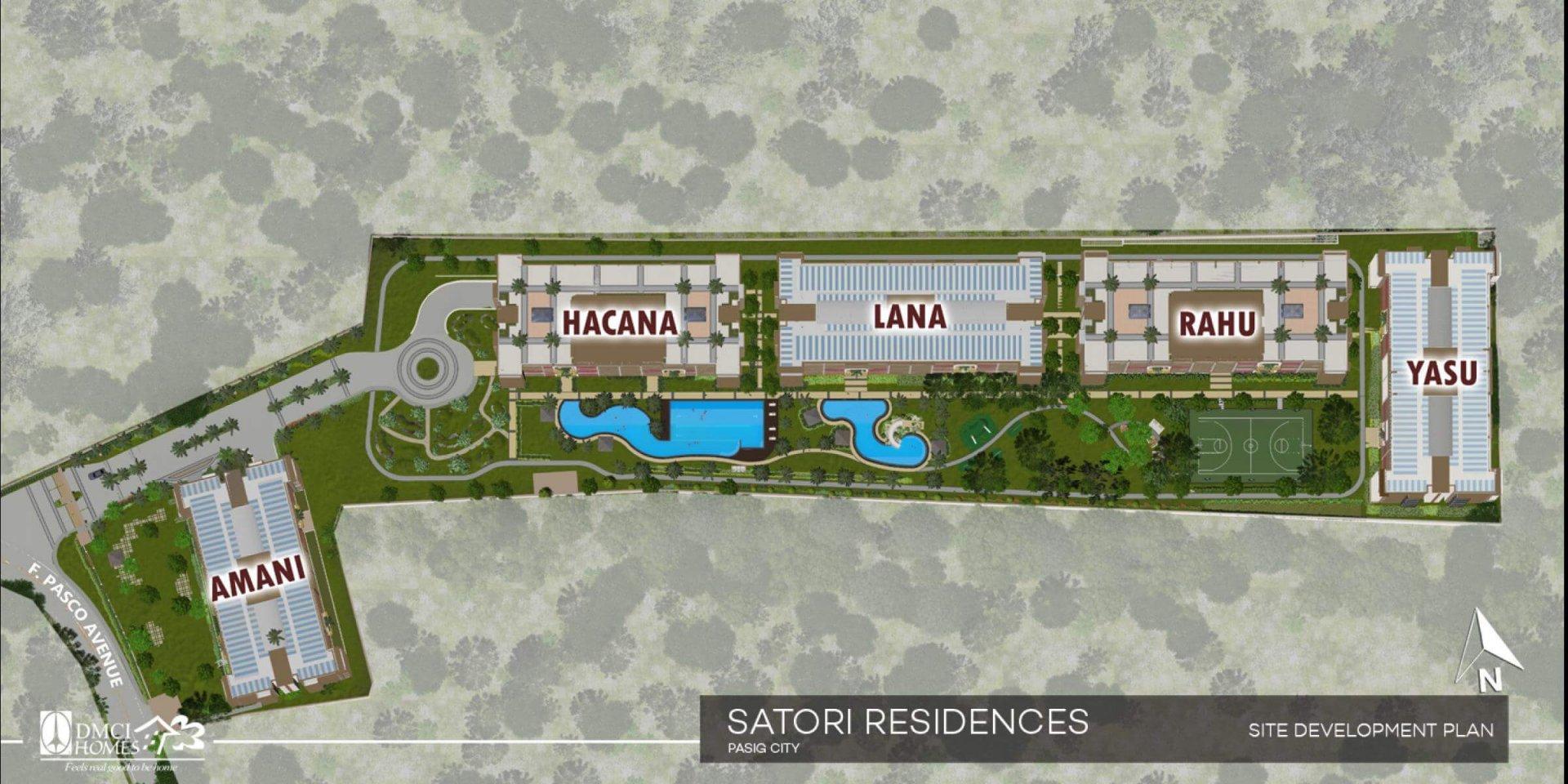 Satori Residences Site Development Plan