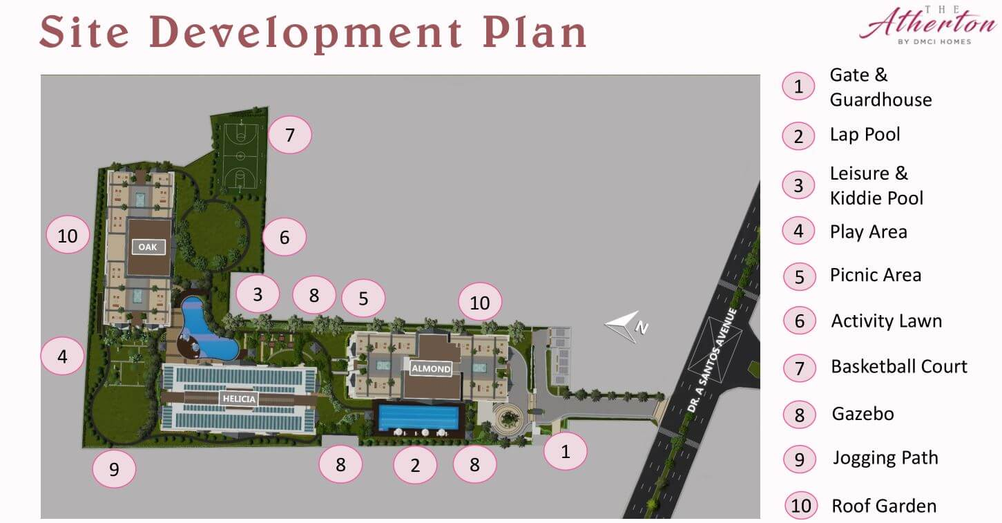 Atherton Site Development Plan