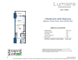 Lumiere 1 Bedroom