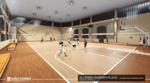 Covered multipurpose court